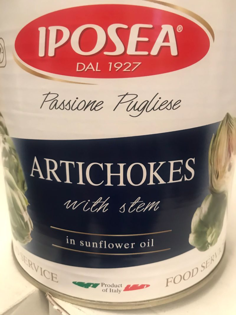 alcachofas iposea