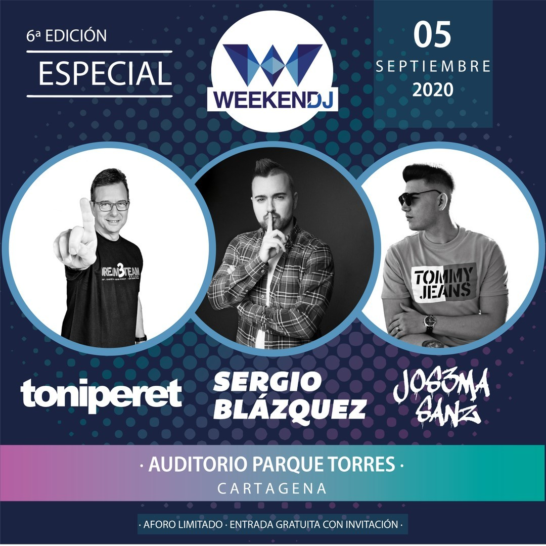 weekend dj festival 2020 cartagena