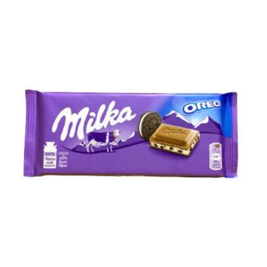 Tableta de chocolate Milka con oreo