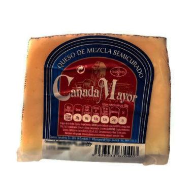 Cuña de queso semicurado cañada mayor