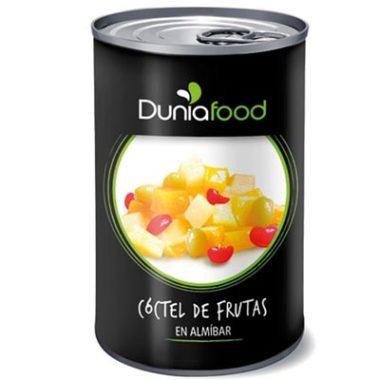 COCTEL DE FRUTAS EN ALMIBAR 1/2KG Duniafood