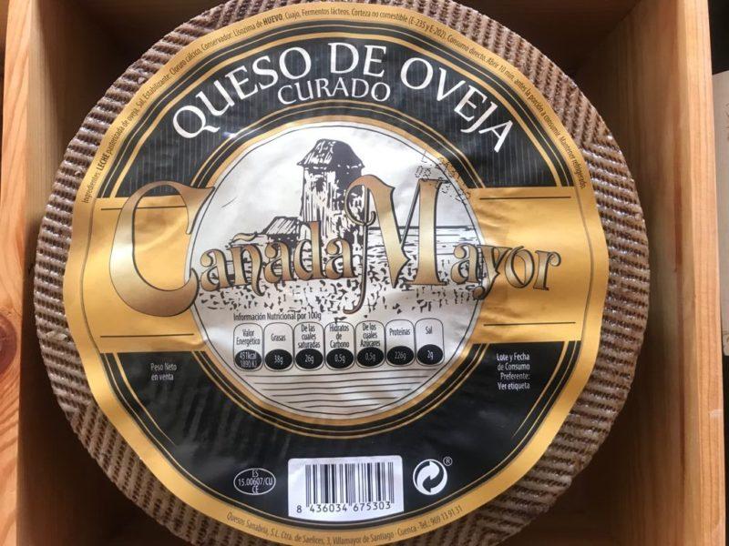 Queso de Oveja Curado Cañada Mayor